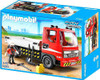 Playmobil City Action Flatbed Construction Truck Set #5283