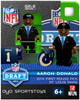 St. Louis Rams NFL 2014 Draft First Round Picks Aaron Donald Minifigure