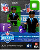 Minnesota Vikings NFL 2014 Draft First Round Picks Anthony Barr Minifigure