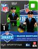 Jacksonville Jaguars NFL 2014 Draft First Round Picks Blake Bortles Minifigure