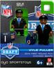 Chicago Bears NFL 2014 Draft First Round Picks Kyle Fuller Minifigure