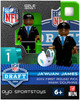 Miami Dolphins NFL 2014 Draft First Round Picks Ja'Wuan James Minifigure