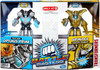 Transformers Age of Extinction Battle Masters Silver Knight Optimus Prime & Grimlock Exclusive Action Figure 2-Pack