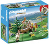 Playmobil Country Backpacker Family at Mountain Spring Set #5424