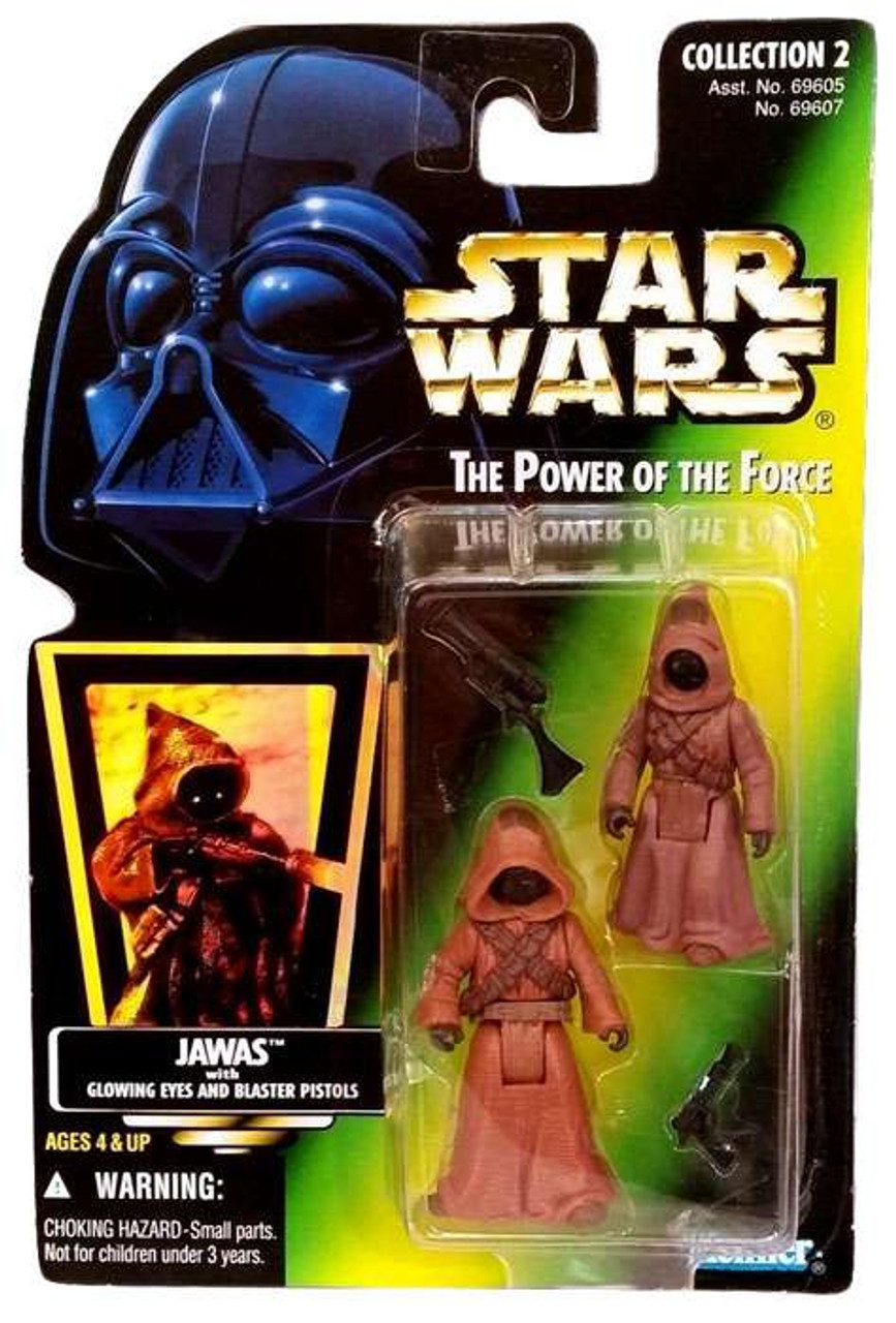 Star Wars A New Hope Power of the Force POTF2 Collection 2 Jawas Action Figure 2-Pack [Photo Card]