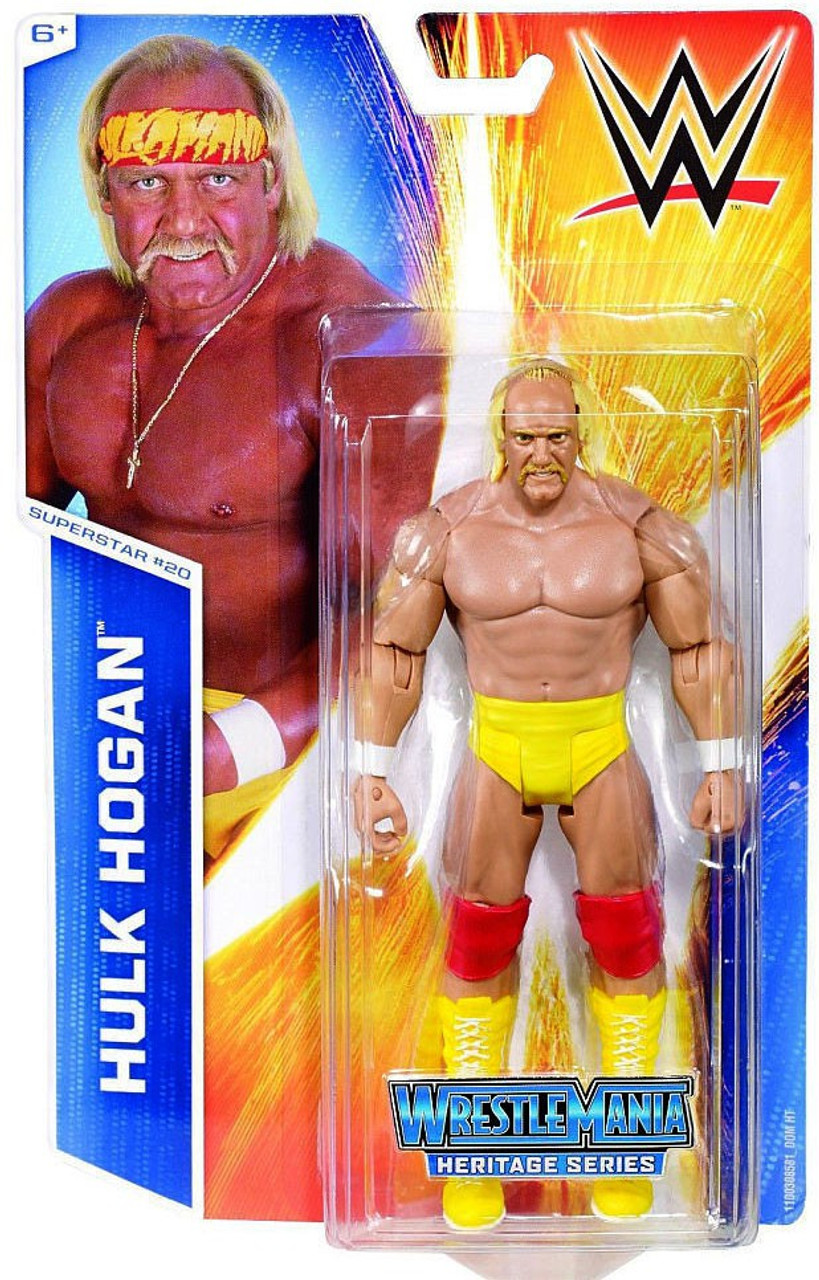 Toys That Are 48 20 : Wwe wrestling series hulk hogan action figure mattel