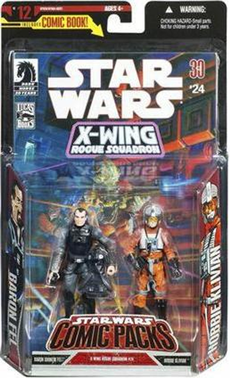 "Star Wars Expanded Universe Comic Packs 2007 Baron Fel & Derek ""Hobbie"" Klivian Action Figure 2-Pack"
