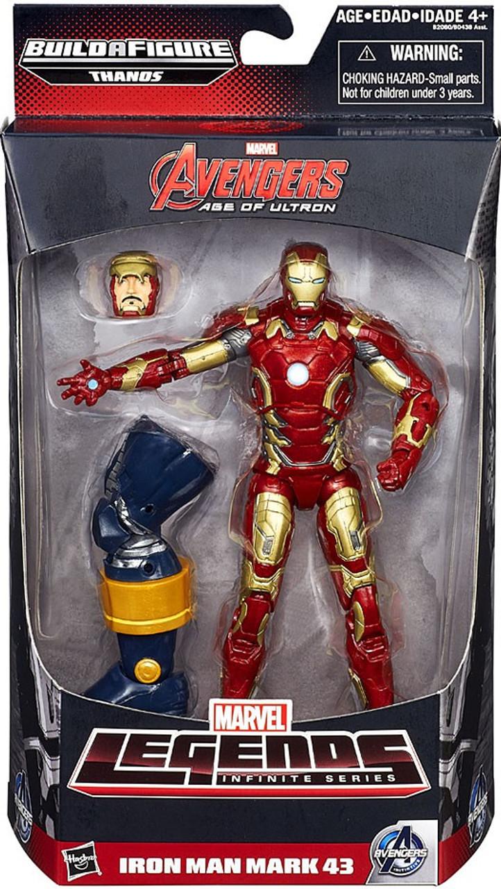 Lego Iron Man Mark 43 Marvel Avengers Marvel...