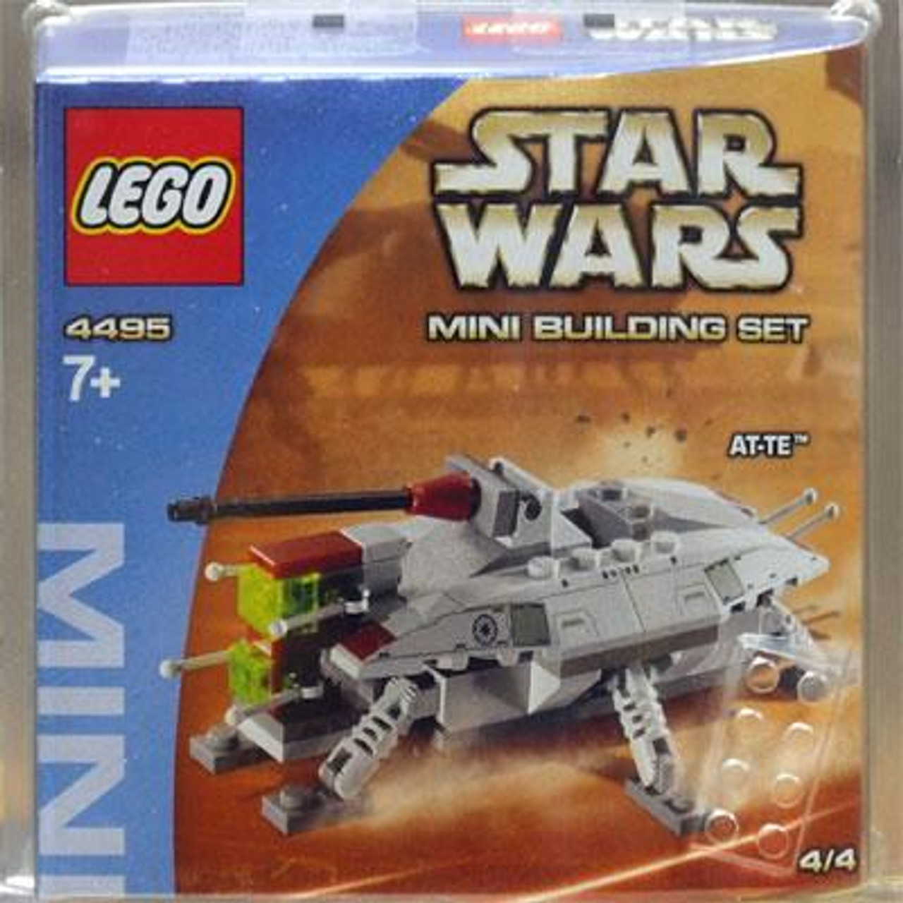 LEGO Star Wars The Clone Wars Mini Building Sets AT-TE Set #4495