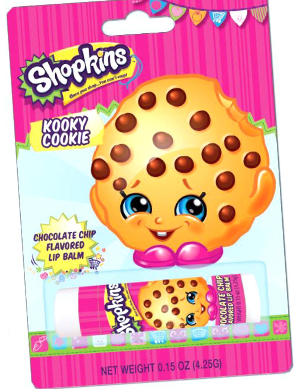 Shopkins Kooky Cookie Lip Balm