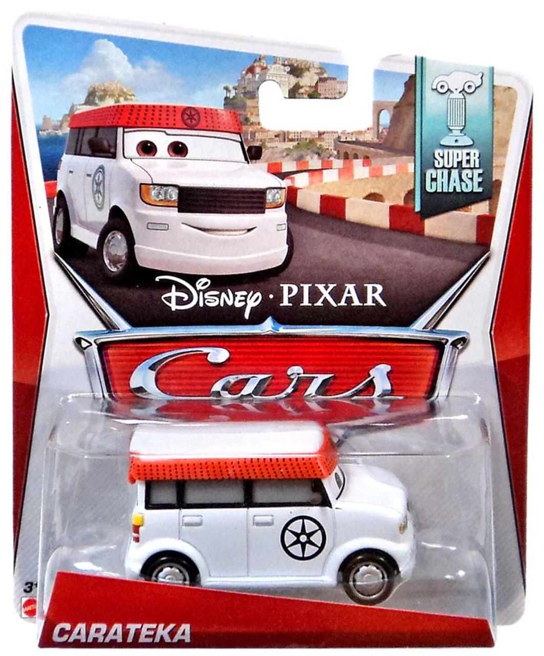 Car Toys Product : Disney cars super chase carateka diecast car mattel