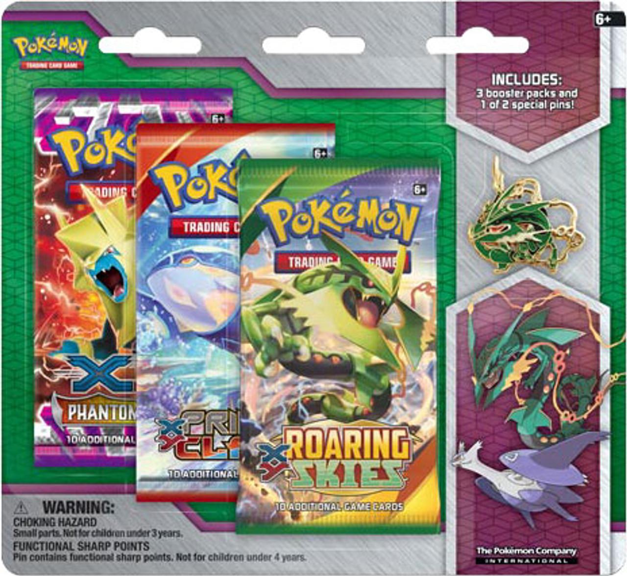 Pokemon xy mega rayquaza pin collection pokemon usa toywiz - Lego pokemon rayquaza ...
