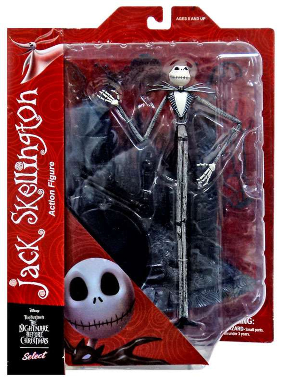 The Nightmare Before Christmas Select Series 1 Jack Skellington 12 ...