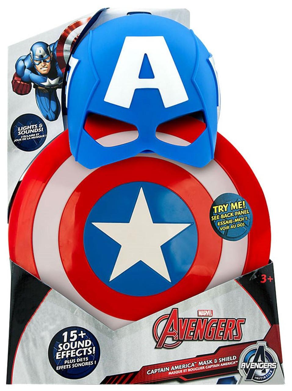 Disney Marvel Avengers Avengers Initiative Captain America Mask