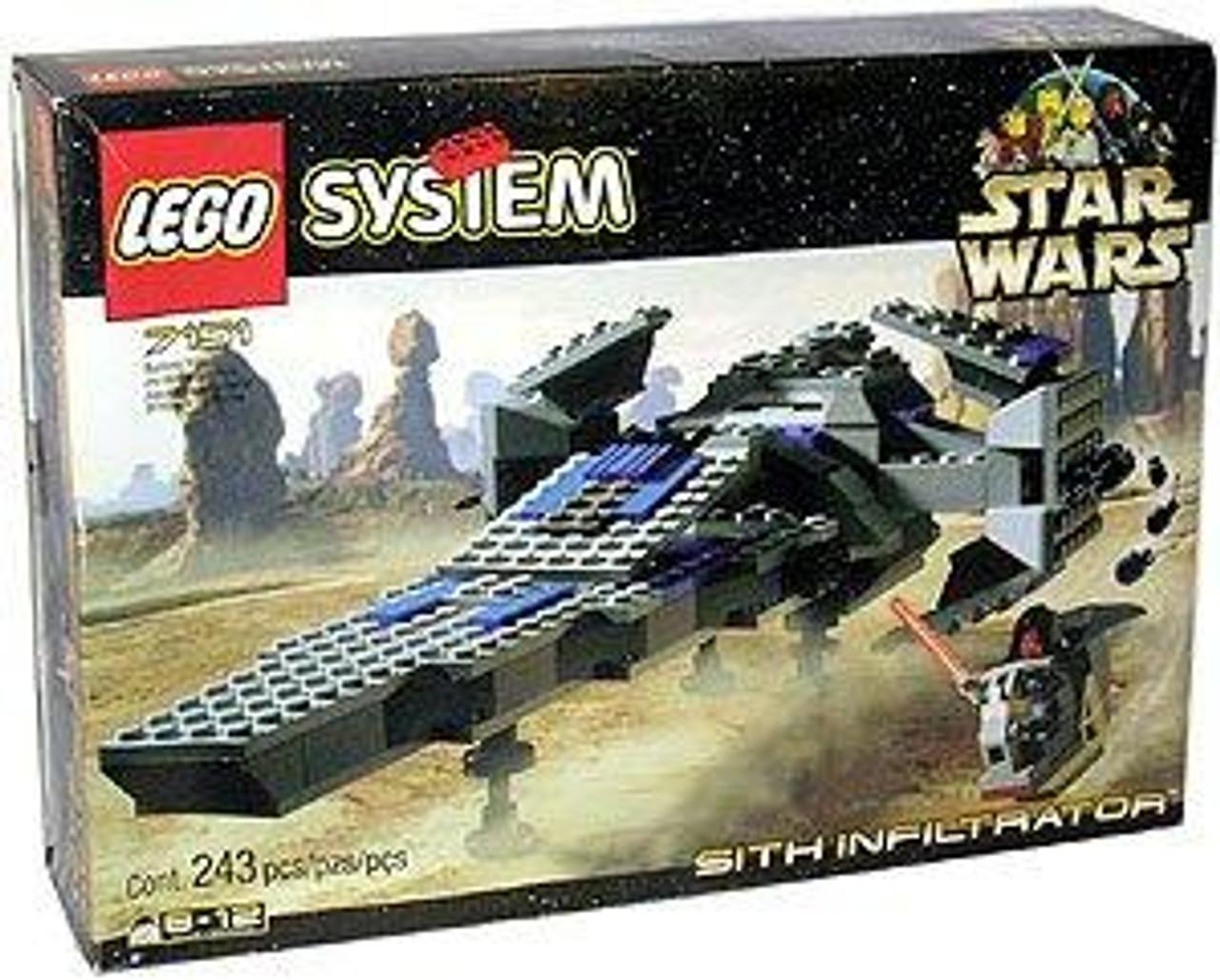 LEGO Star Wars The Phantom Menace Sith Infiltrator Set #7151
