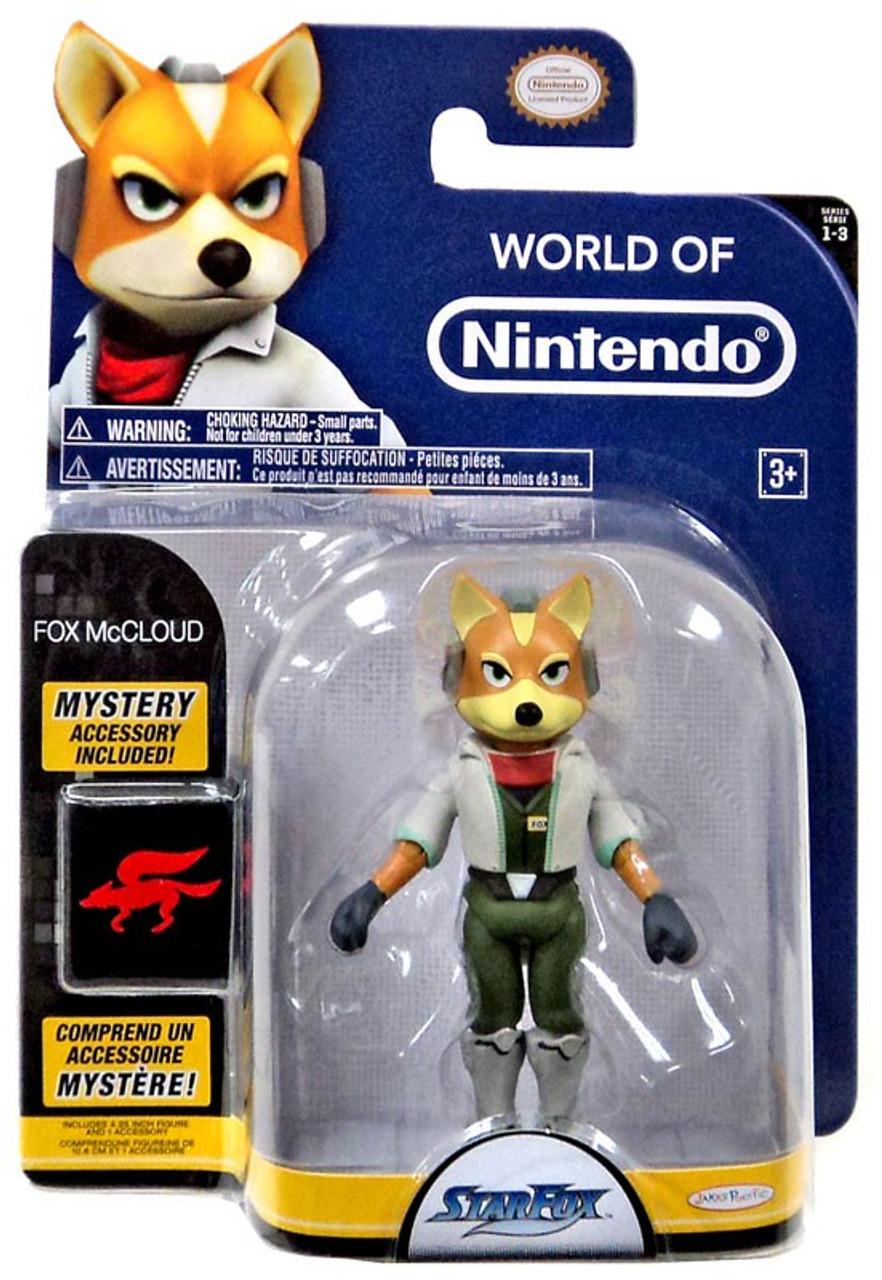 World Of Nintendo Starfox Series 3 Fox McCloud Action Figure