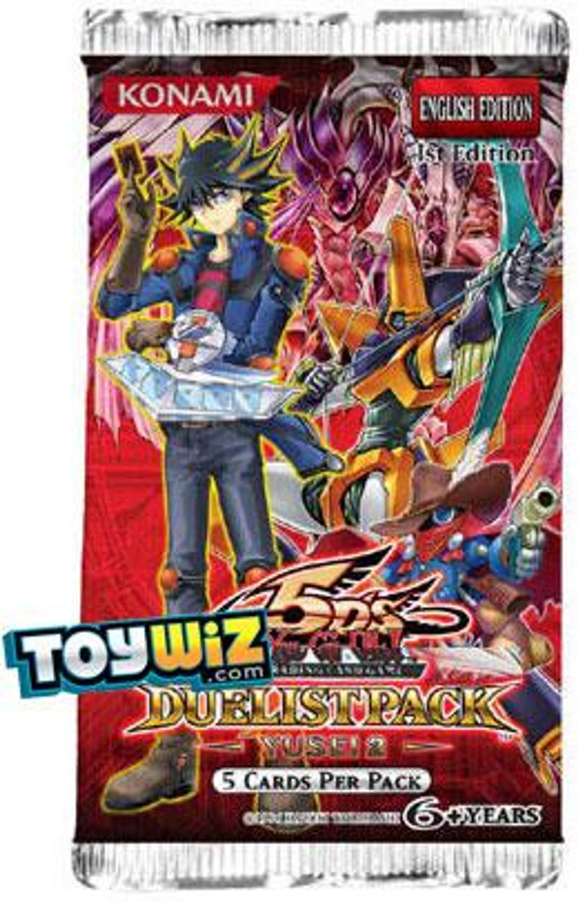 YuGiOh Duelist Pack Yusei 2 Booster Pack