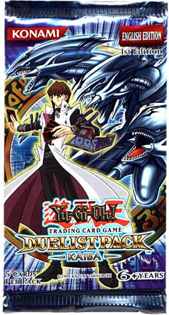YuGiOh Duelist Pack: Kaiba (1st Edition) Booster Pack