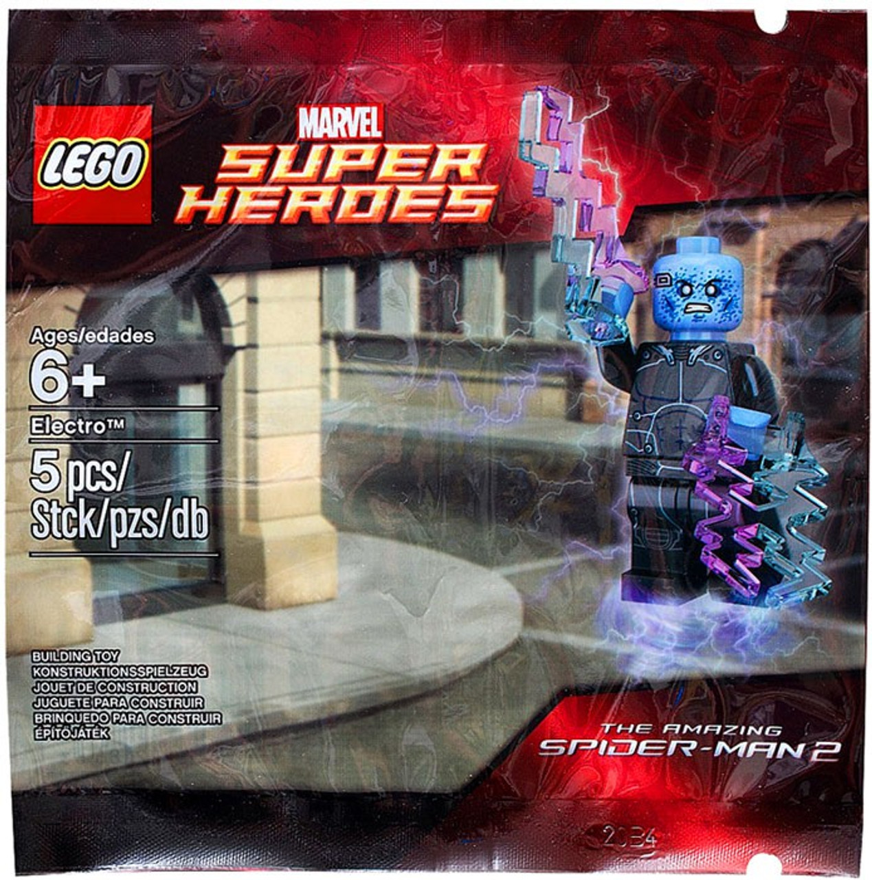 Lego marvel super heroes the amazing spider man 2 electro set 5002125 bagged toywiz - Lego the amazing spider man 3 ...