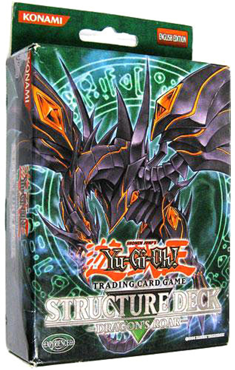 YuGiOh Structure Deck: Dragon's Roar Dragon's Roar Structure Deck [Unlimited Edition]