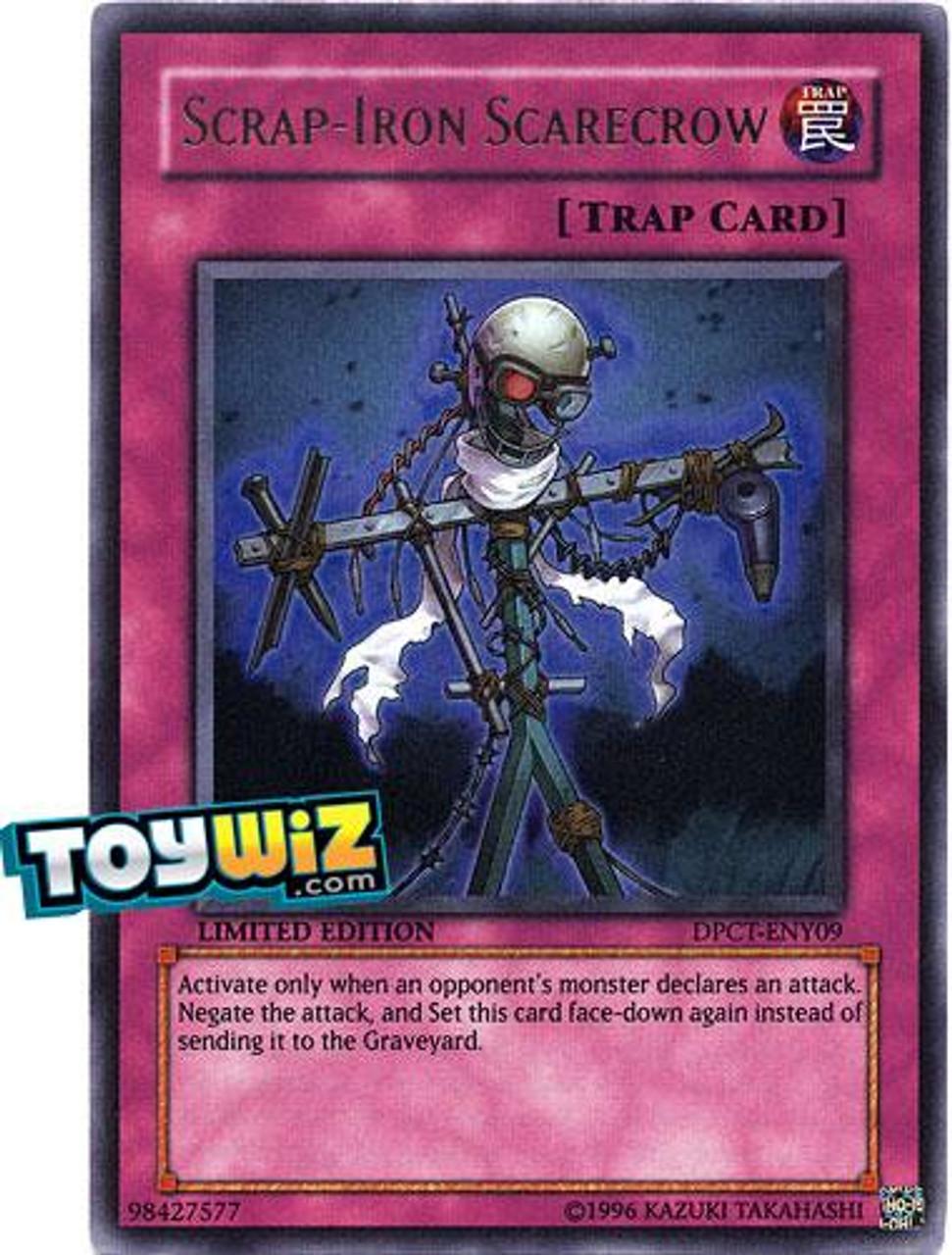 YuGiOh 5D's 2010 Collector Tin Super Rare Scrap-Iron Scarecrow DPCT-ENY09