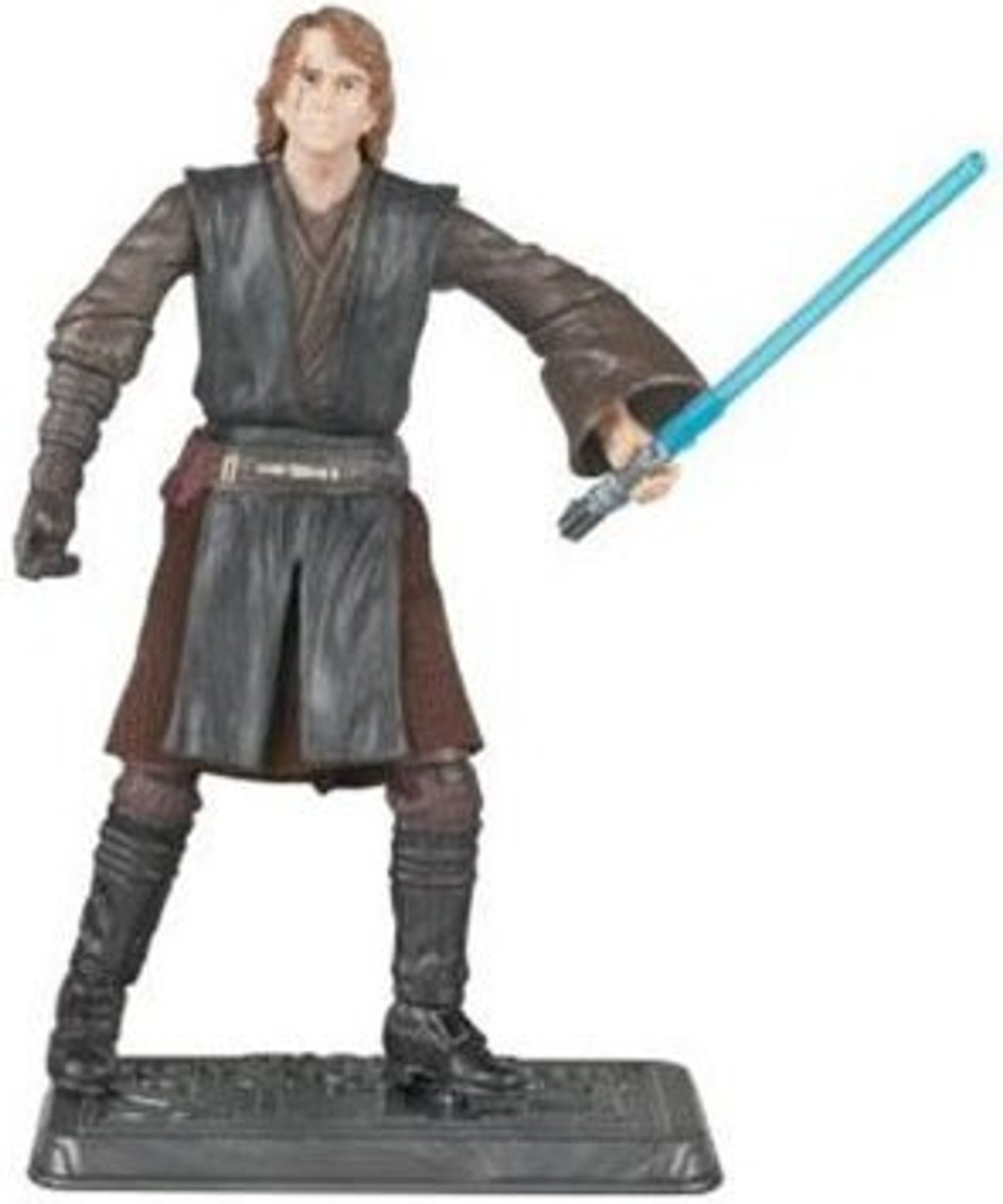 Star Wars Revenge of the Sith 30th Anniversary 2008 Wave 1 Anakin Skywalker Action Figure #2 [On Lava Platform]