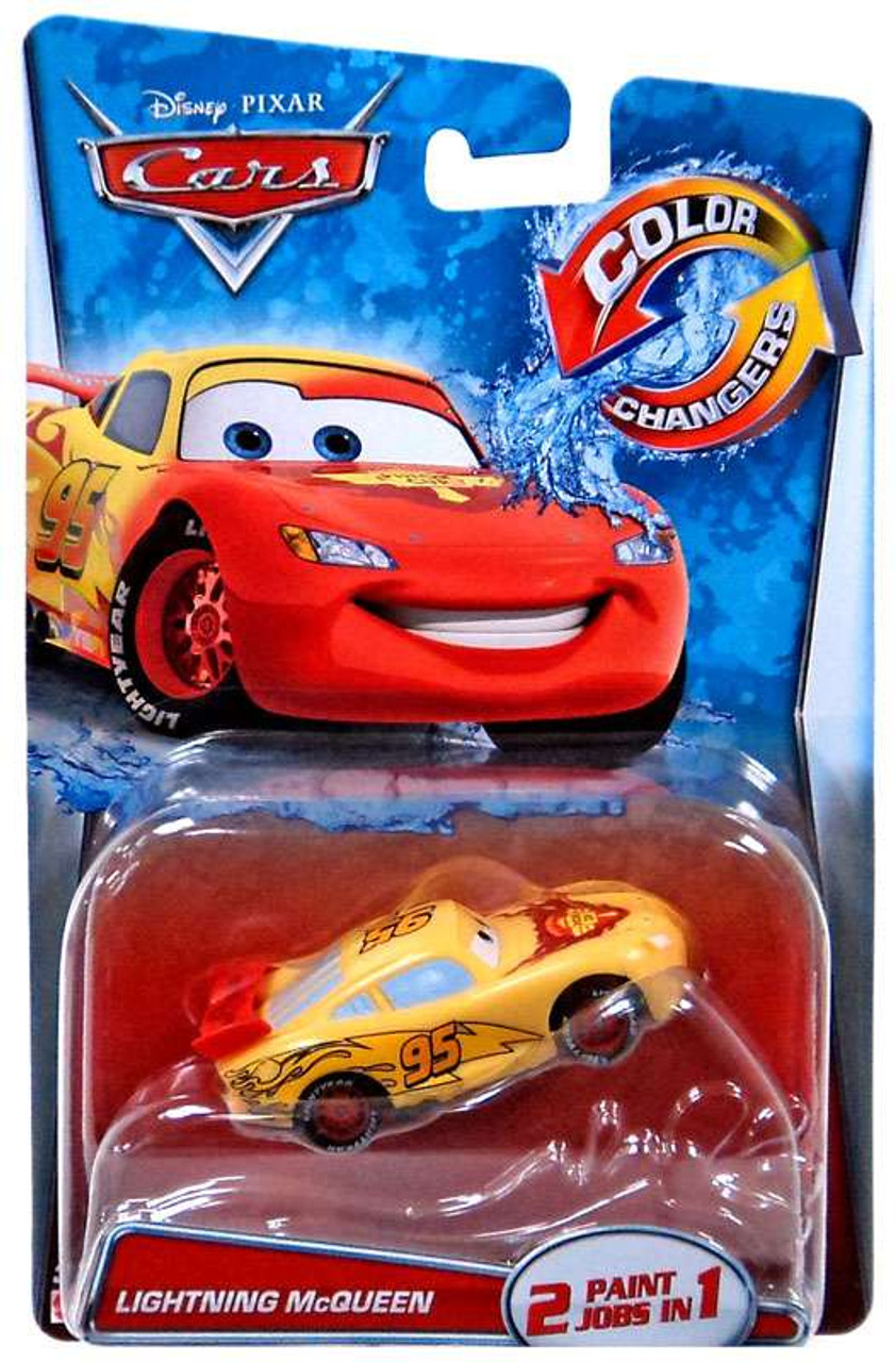 Disney Pixar Cars  Change And Race Lightning Mcqueen