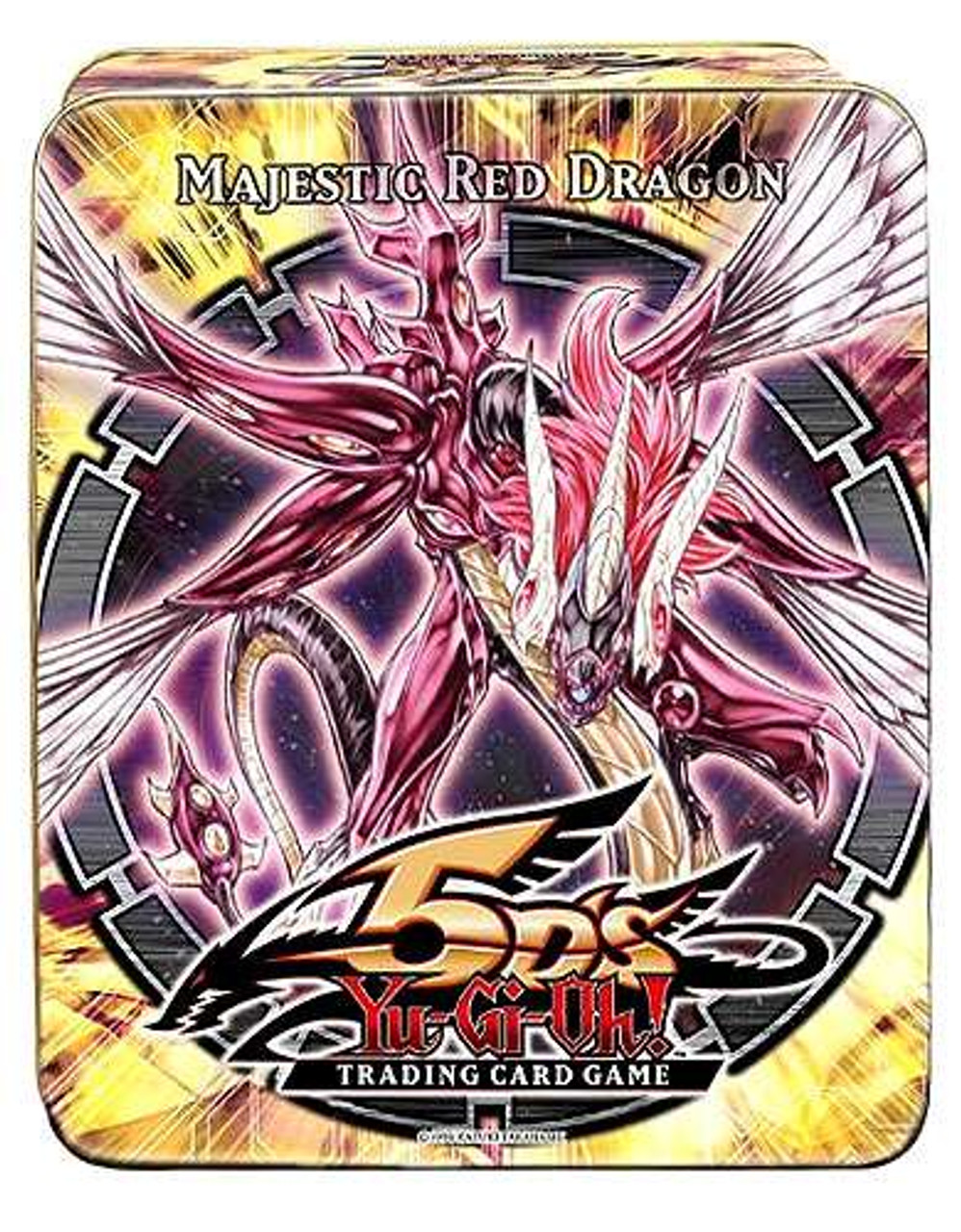 YuGiOh 5D's 2010 Collector Tin Majestic Red Dragon Collector Tin [Sealed]