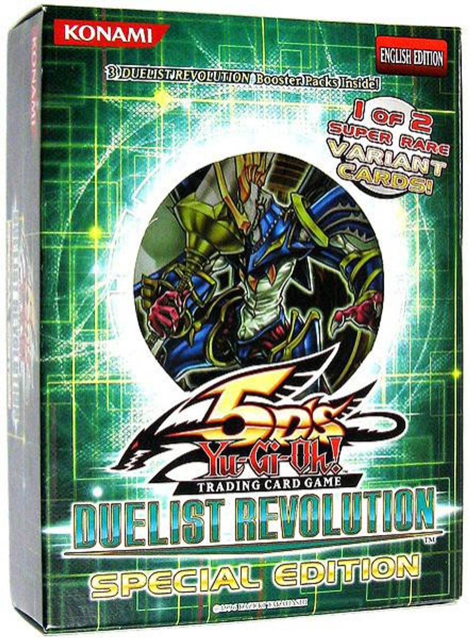 YuGiOh Duelist Revolution Special Edition Pack [3 Booster Packs & 1 Random Promo Card] [Sealed]