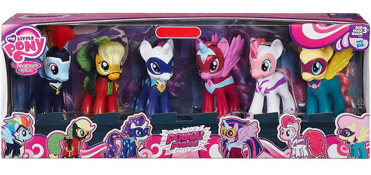 My Little Pony Friendship Is Magic Power Ponies Exclusive