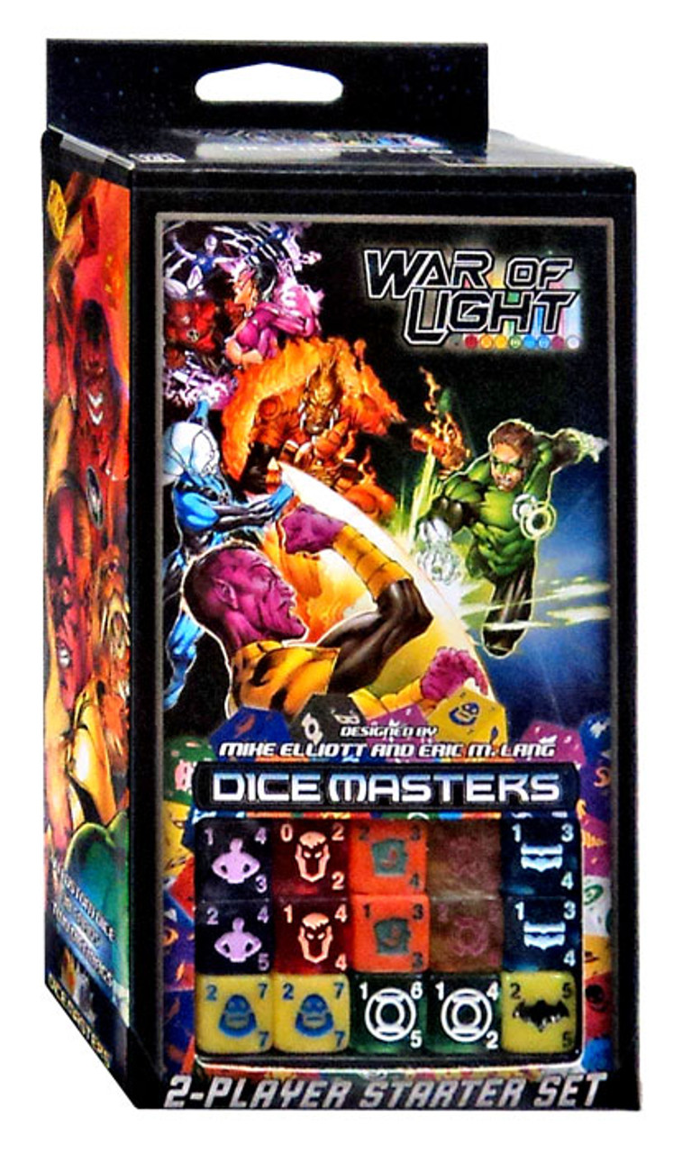 Dc Dice Masters War Of Light Dice Masters Starter Set
