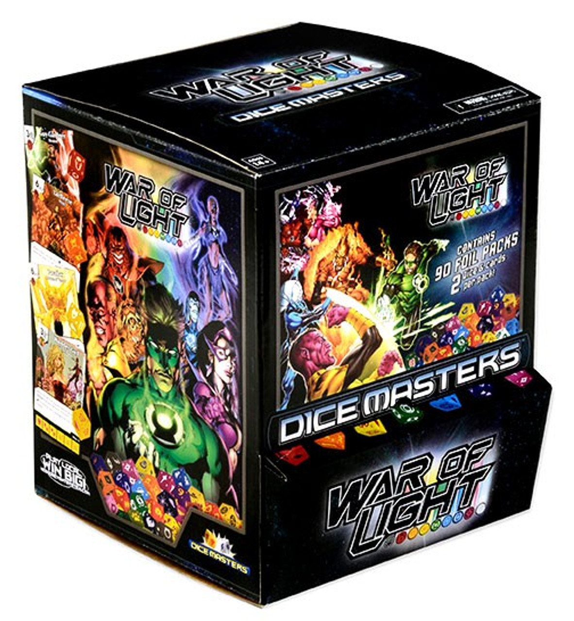 Dc Heroclix War Of Light Dice Masters Gravity Feed Booster