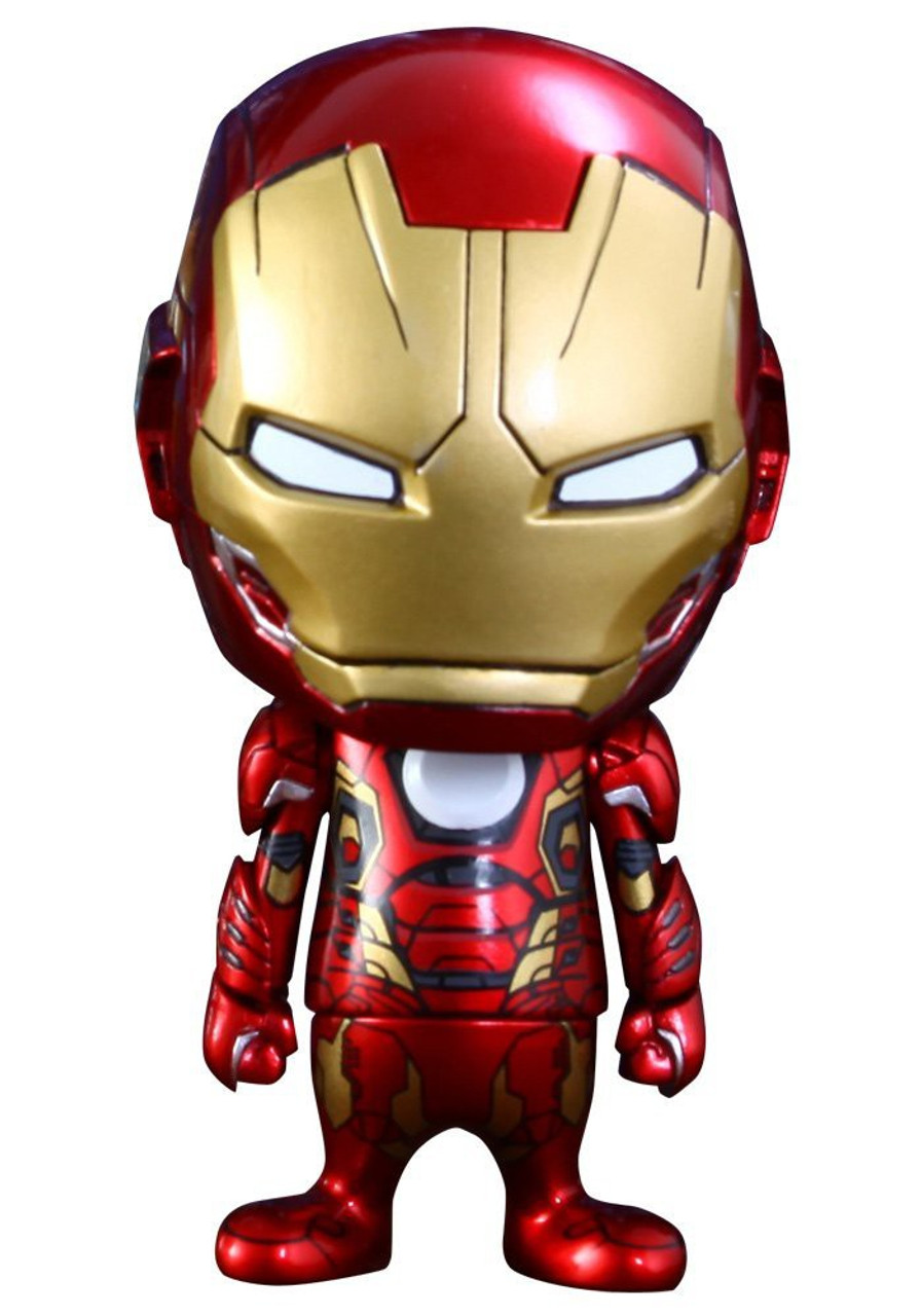 Marvel avengers age of ultron cosbaby series 2 iron man - Mini iron man ...