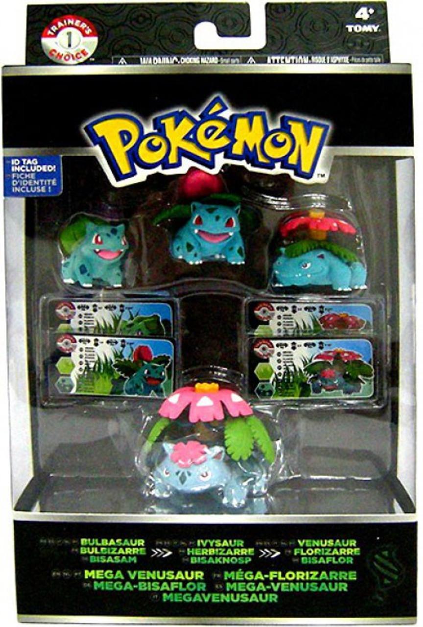Pokemon xy bulbasaur ivysaur venusaur mega venusaur mini - Mega florizarre ...