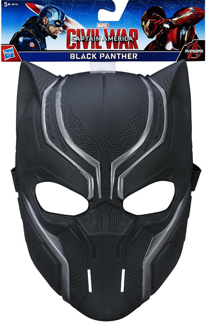 Captain America Civil War Black Panther Mask Hasbro Toys  ToyWiz