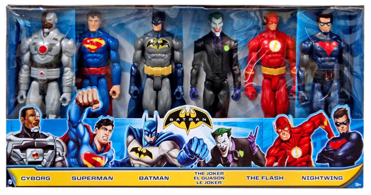 DC Universe Justice League Unlimited Cyborg, Superman, Batman ... Justice League Unlimited Cyborg