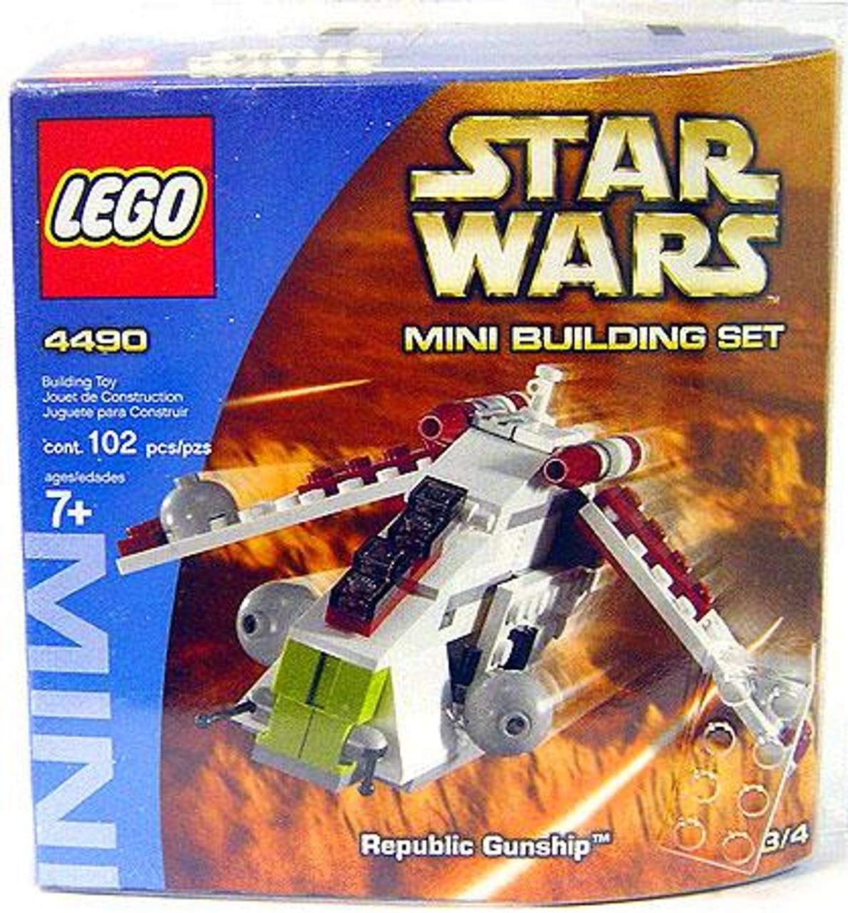 LEGO Star Wars The Clone Wars Mini Building Sets Republic Gunship Set #4490