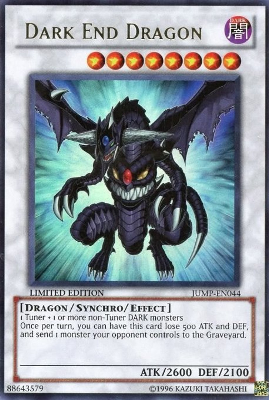 YuGiOh Shonen Jump Ultra Rare Dark End Dragon JUMP-EN044