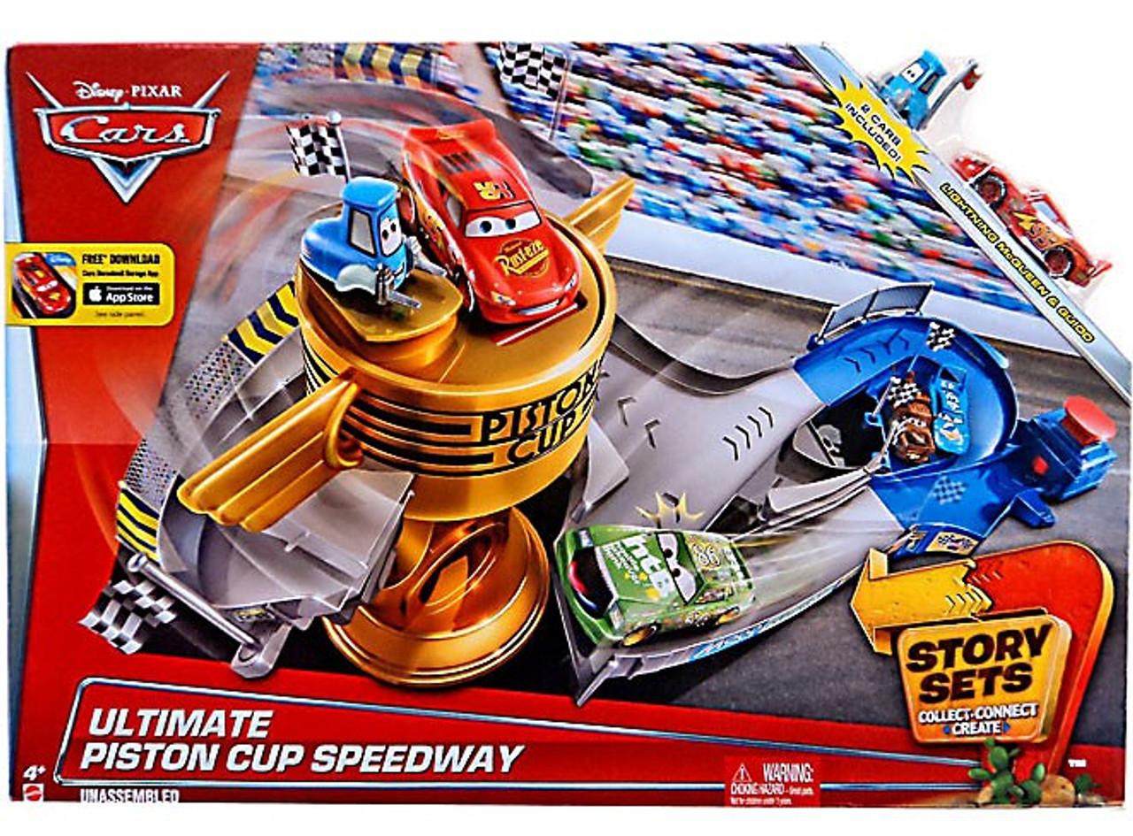 Disney Cars Piston Cup Set