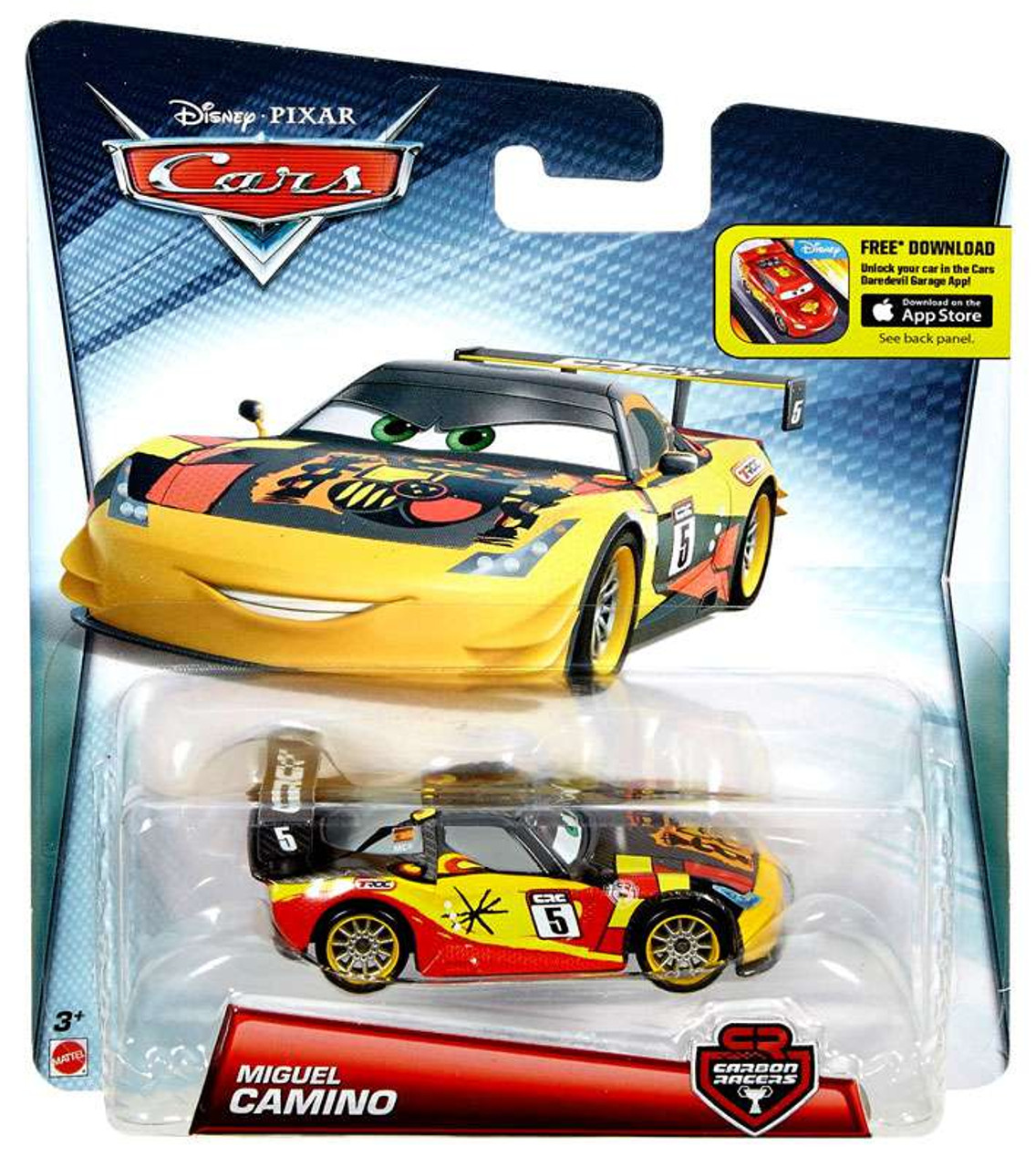 Cars 1 And 2 Toys : Disney cars carbon racers miguel camino diecast car