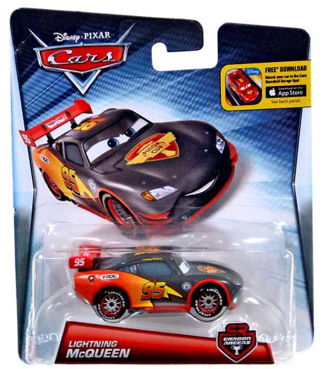 Disney Cars Carbon Racers Lightning McQueen Diecast Car & Disney Cars Carbon Racers Lightning McQueen 155 Diecast Car Mattel ... azcodes.com