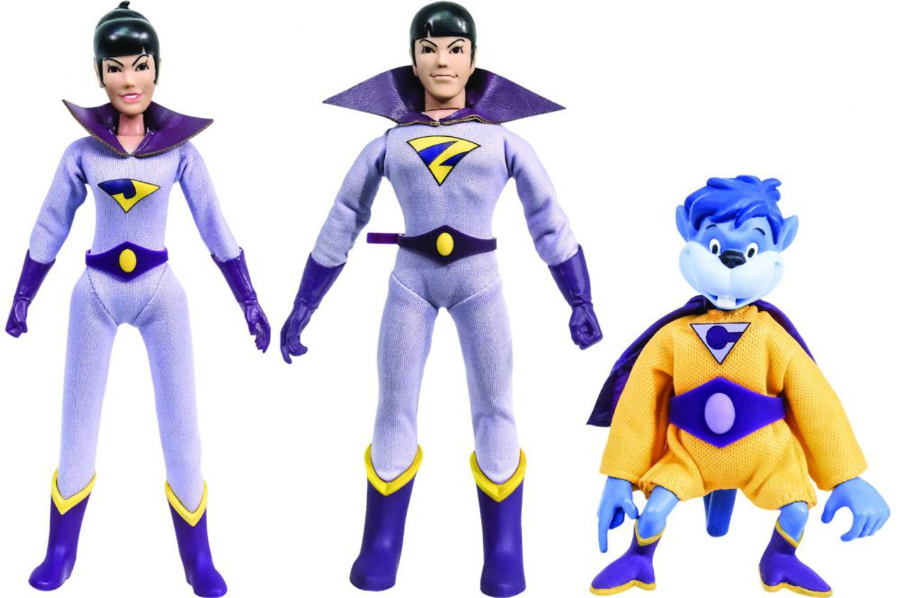 DC Worlds Greatest Heroes The Wonder Twins Gleek 8 Retro ...