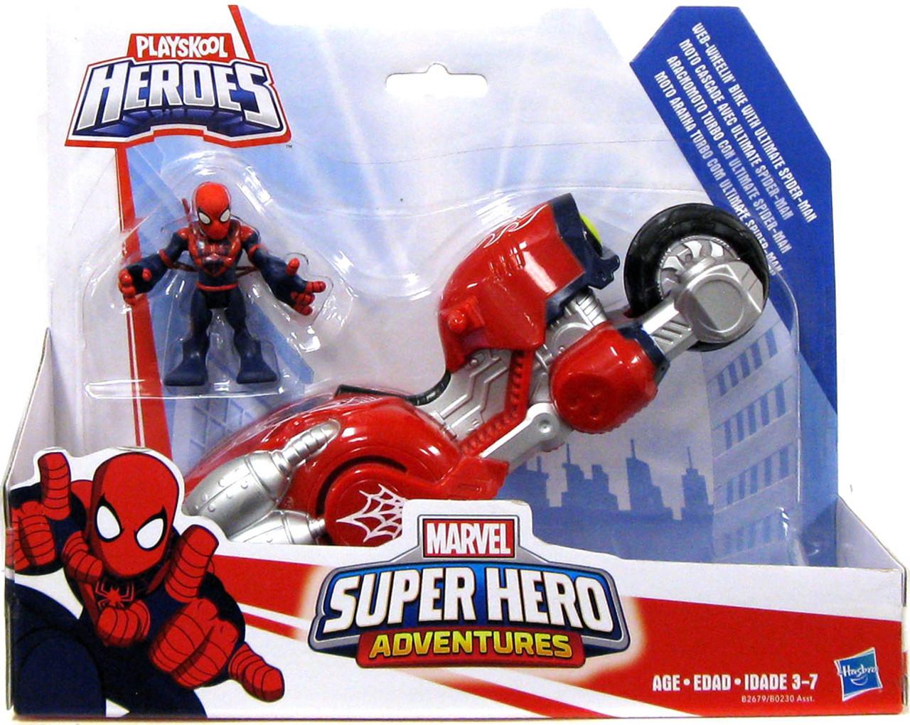 Toys And Adventures : Marvel playskool heroes super hero adventures ultimate