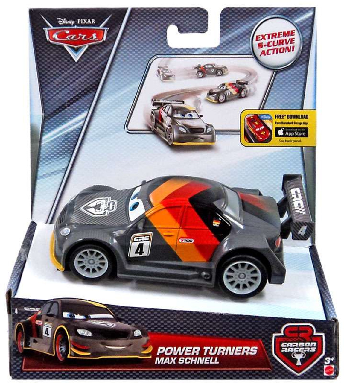 disney cars carbon racers max schnell power turners car