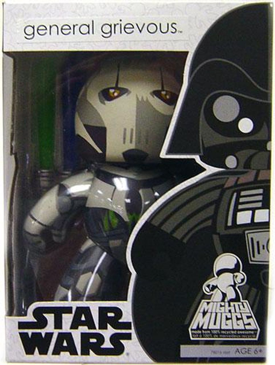Star Wars Revenge of the Sith Mighty Muggs Wave 4 General Grievous Vinyl Figure