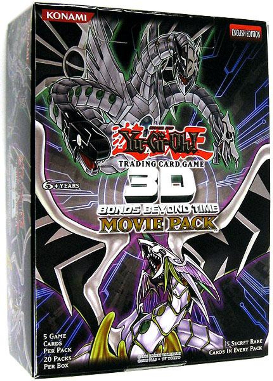 YuGiOh 3D Bonds Beyond Time Booster Box [20 Packs] [Sealed]