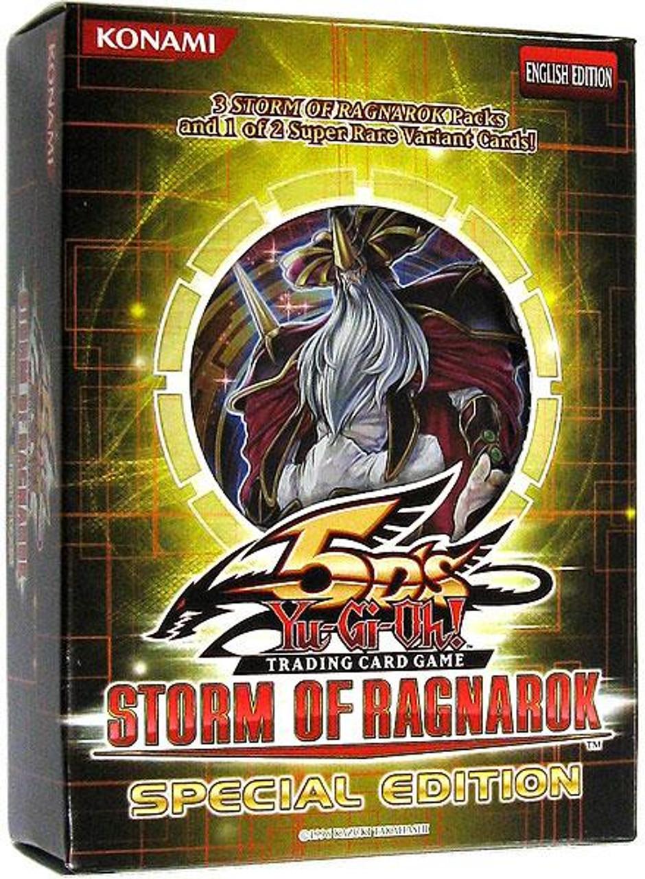 YuGiOh Storm of Ragnarok Special Edition Pack [Sealed]