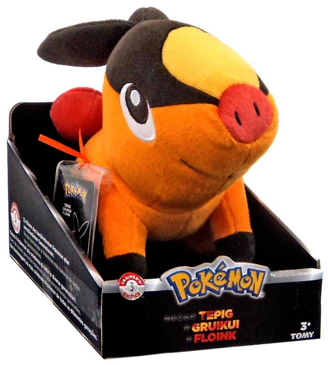 Pokemon TOMY Tepig 8-Inch Trainer's Choice Plush