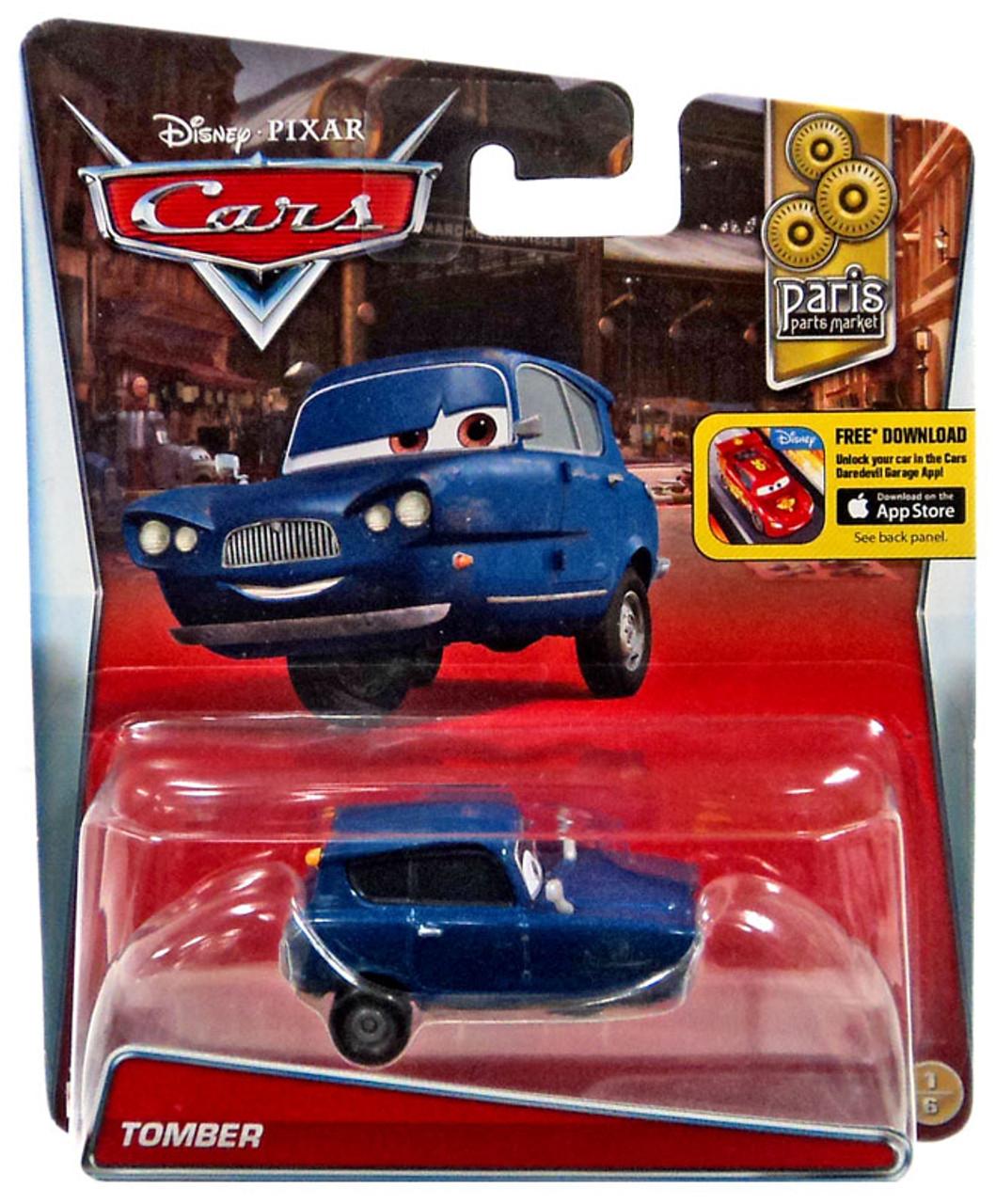 Disney Pixar Cars Paris Parts Market Tomber 155 Diecast Car 16
