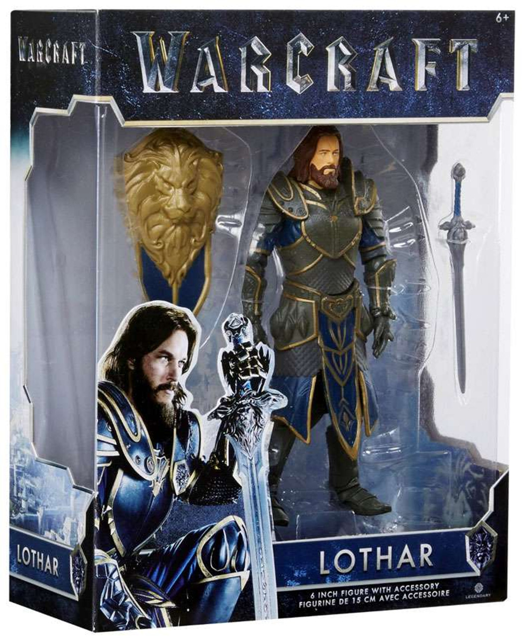 Jakks Pacific Reveals Rogue One Figures: World Of Warcraft Lothar 6 Action Figure Jakks Pacific